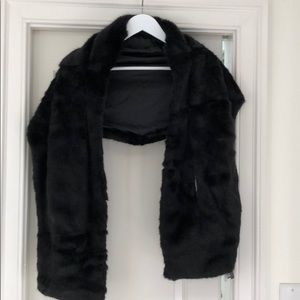 Faux Fur Shrug NWT!!